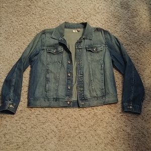 North Crest denim jacket